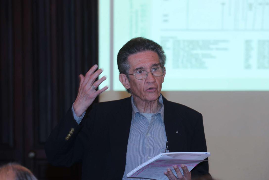 Héctor Rosada Granados, sociólogo y analista político. (Foto Prensa Libre: Hemeroteca PL)