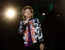 """El líder de los Rolling Stones, Mick Jagger, afirmó este viernes estar """"mucho mejor"""" tras haber sido sometido a una operación de corazón. (Foto Prensa Libre: AFP)"""