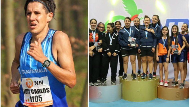 Luis Carlos Rivero, en maratón, y el equipo femenino de tenis de mesa consiguen el pase a los Panamericanos. (Foto redes).