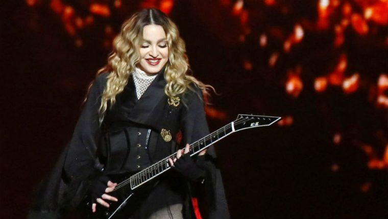 La cantante estadounidense Madonna también es conocida como reina del pop. (Foto Prensa Libre: EFE)