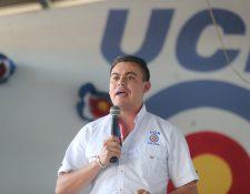 Mario Alejandro Estrada Ruano, alcalde de Jalapa, se pronuncia sobre la detención de su padre en Estados Unidos por presuntos nexos con el narcotráfico. (Foto: Prensa Libre, Erick Ávila)
