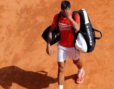 El serbio Novak Djokovic fue eliminado de los cuartos de final de Montecarlo. (Foto Prensa Libre: AFP).