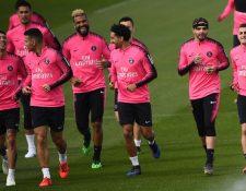 El París SG podría sellar su buena actuación en la liga francesa. (Foto Prensa Libre: AFP).
