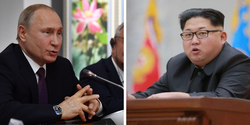 Imágenes:  AFP y Agencia Norcoreana de noticias