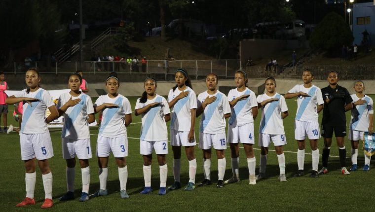 La Selección Femenina eliminó al combinado local. (Foto Prensa Libre: Twitter Fedefut)