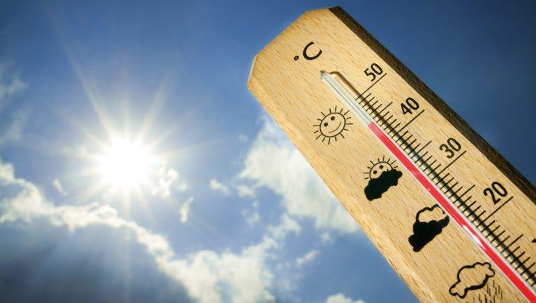 El Insivumeh reporta altas temperaturas en los próximos días. (Foto Prensa Libre: Servicios)