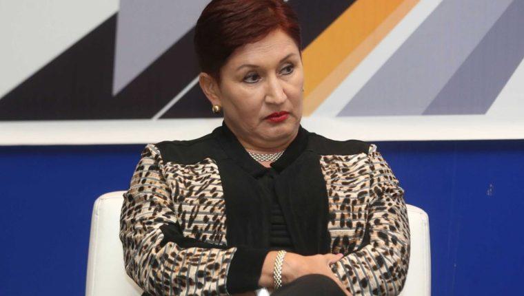 Thelma Aldana, candidata presidencial proclamada por el Movimiento Semilla. (Foto Prnsa Libre: Hemeroteca PL)