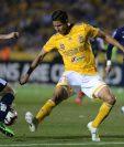 Monterrey tiene la ventaja 1-0 en la serie final por el título de la Concacaf. (Foto Prensa Libre: EFE).