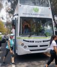 El Turibus efectuará recorridos en las periferias del Centro Histórico. (Foto Prensa Libre: cortesía)