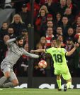 Alisson Becker estuvo una participación acertada en el partido de vuelta de semifinales entre el Liverpool y el Barcelona. (Foto Prensa Libre: AFP)