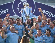 A pesar de ser el absoluto dominador de la Premier League en los últimos años, el Manchester CIty podría ser descartado para la próxima Champions League. (Foto Prensa Libre: AFP)