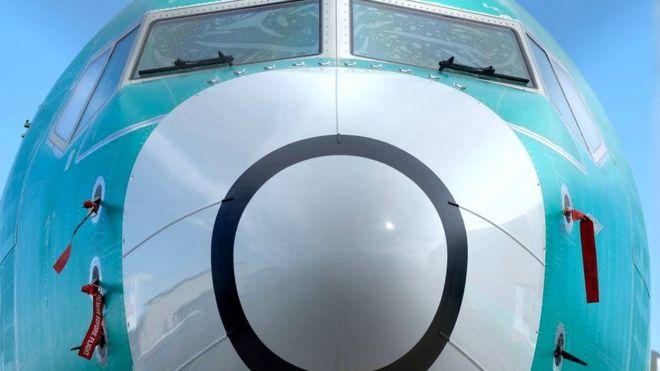 Avión 737 MAX de Boeing. GETTY IMAGES
