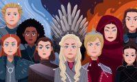 Las mujeres de Poniente cobraron fuerza en la serie en las últimas temporadas. (FOTO: DAVIES SURYA/BBC)