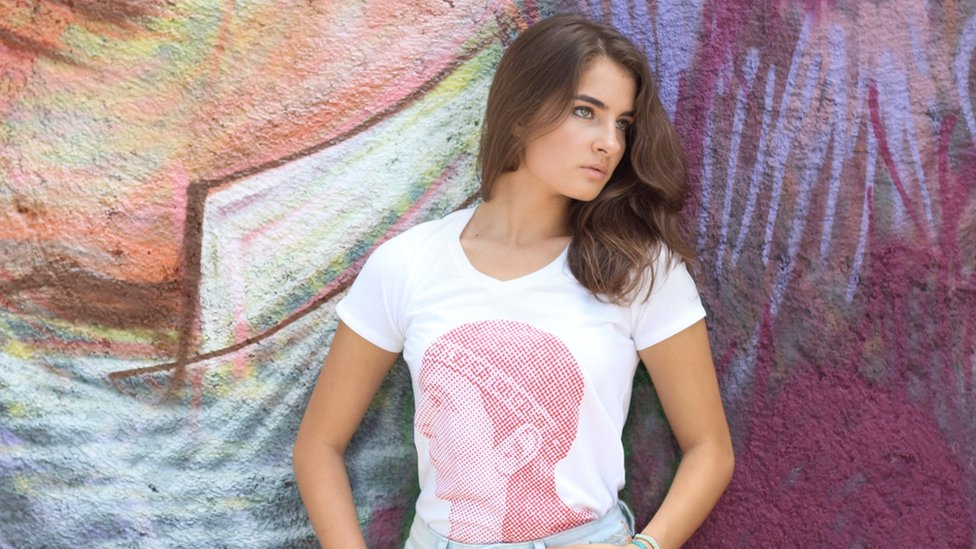 La camiseta basada en Lempira, el cacique que luchó contra los españoles en el siglo XVI y que da nombre a la moneda de Honduras, es el icono de la marca Galeano.