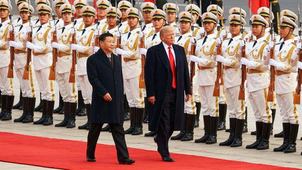 Xi Jinping y Donald Trump gobiernan países con dos modelos económicos muy distintos.
