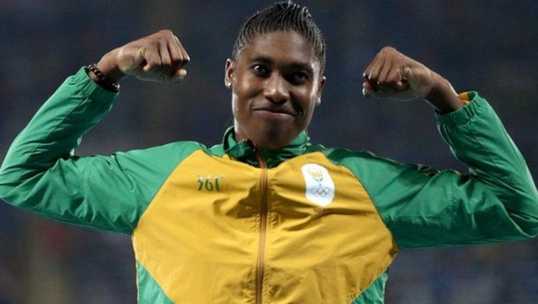 Caster Semenya ha ganado dos veces la prueba de 800 metros en los Juegos Olímpicos.