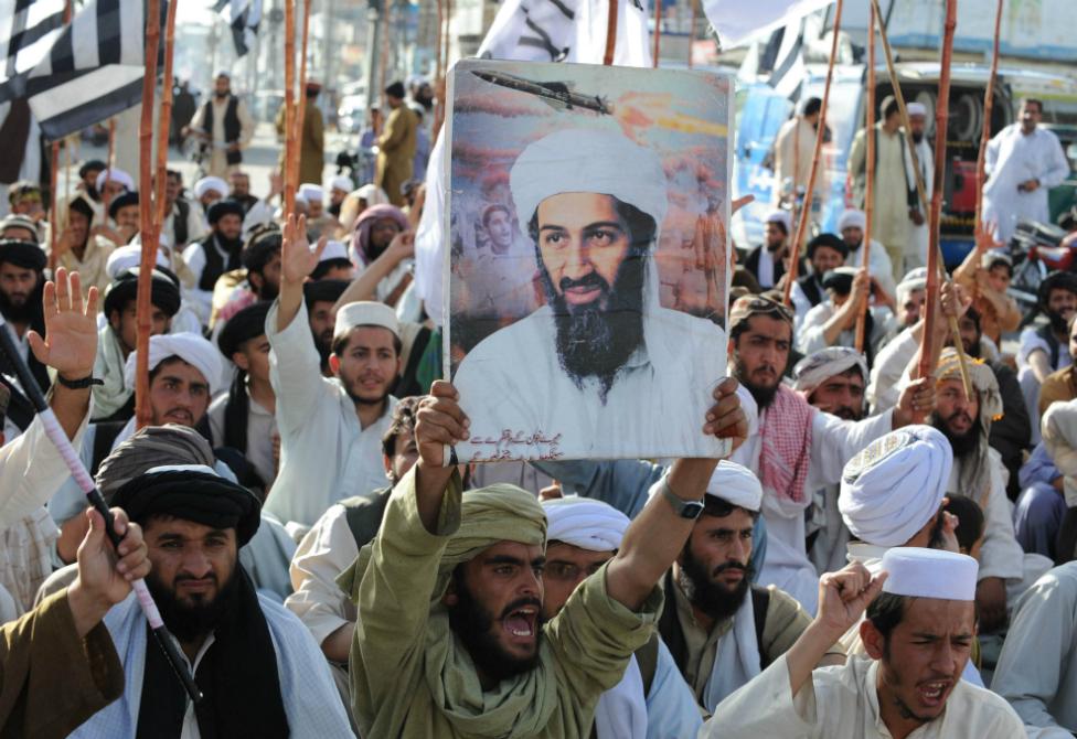 En Pakistán hubo protestas antiestadounidenses, tras el asesinato de Osama bin Laden, en 2011,