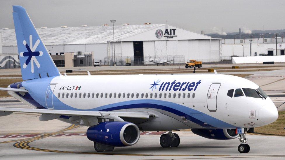 Interjet es la principal aerolínea fuera de Rusia (y la única en el continente americano) que utiliza los aviones.