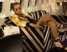 El actor Taron Egerton interpretó a Elton John en el filme biográfico html5-dom-document-internal-entity1-quot-endRocketmanhtml5-dom-document-internal-entity1-quot-end.
