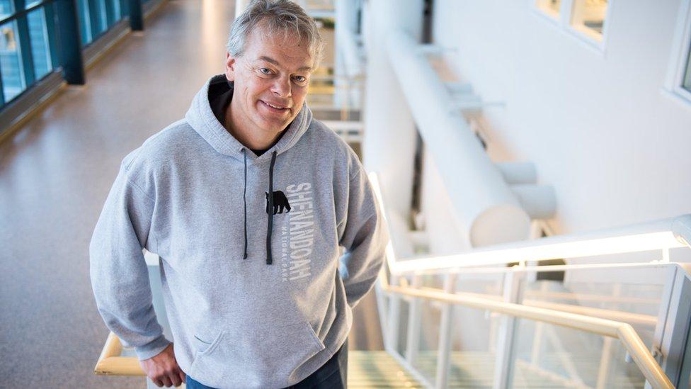 El neurocientífico Edvard Moser nació en 1962 en una pequeña isla en Noruega.