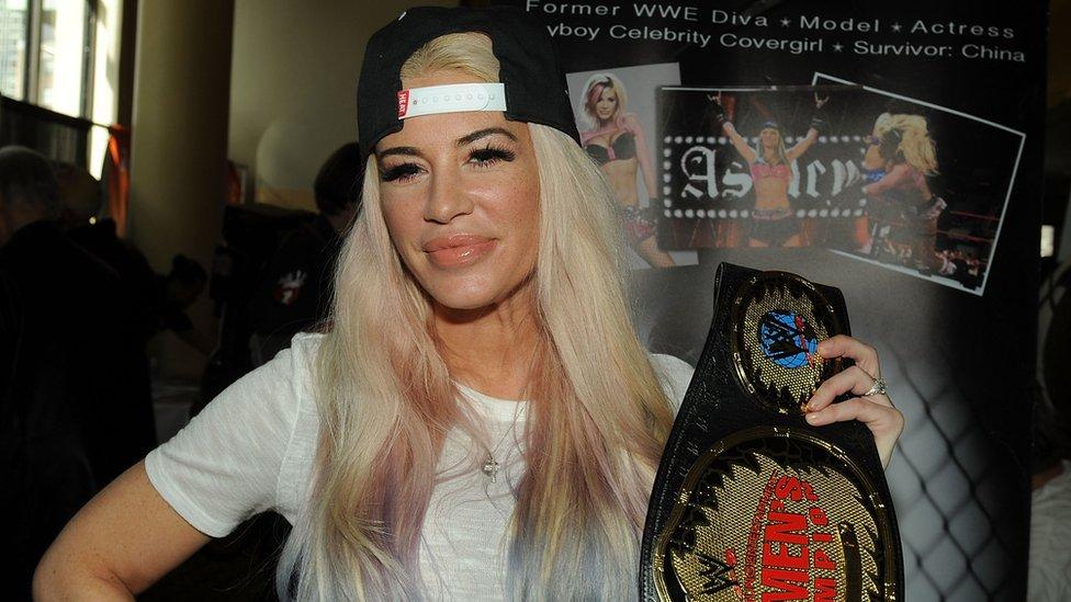 Ashley Massaro se convirtió en una de las figuras femeninas de la lucha libre en EE. UU. GETTY IMAGES