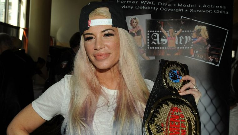 Ashley Massaro se convirtió en una de las figuras femeninas de la lucha libre en EE. UU. GETTY IMAGES