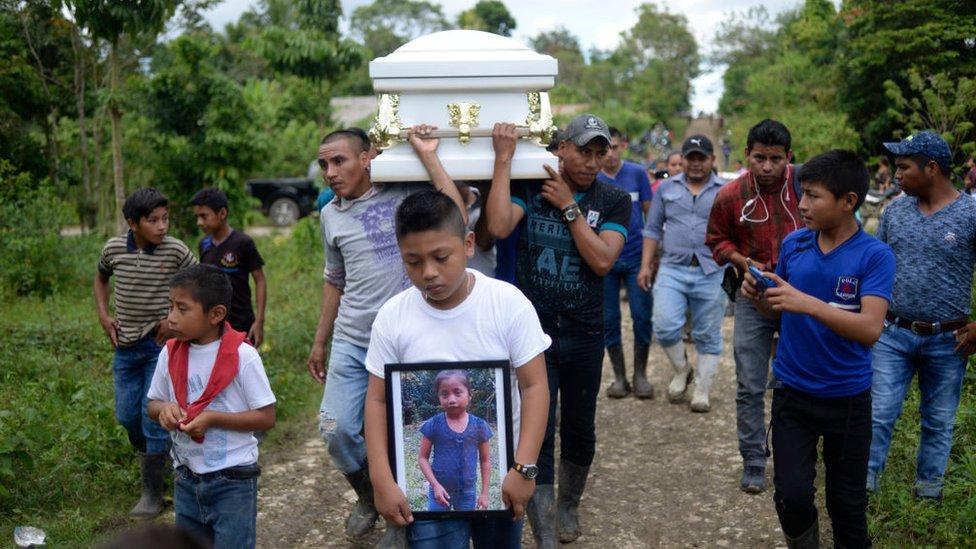 La guatemalteca de 7 años Jakelin Caal falleció el pasado mes de diciembre bajo custodia de la autoridad fronteriza de EE.UU.