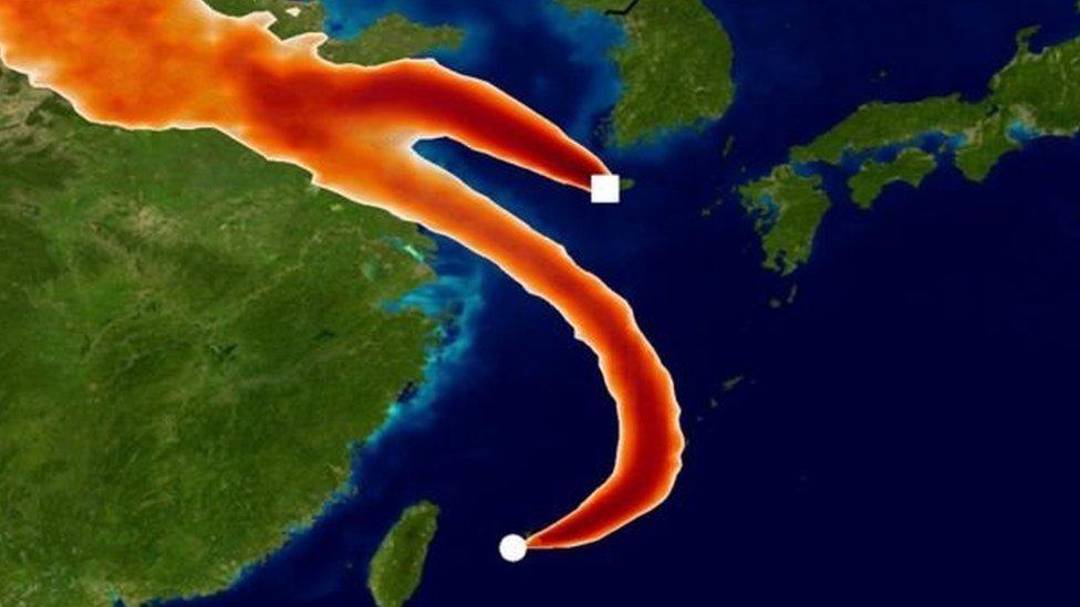 Estaciones de monitoreo en Corea del Sur y Japón fueron clave para determinar que las emisiones del gas prohibido provenían del este de China.