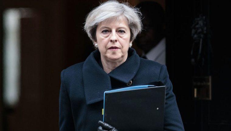 Theresa May anunció que dimitirá el próximo 7 de junio.