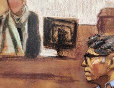 Raniere enfrenta su juicio en una corte de Brooklyn, en Nueva York.