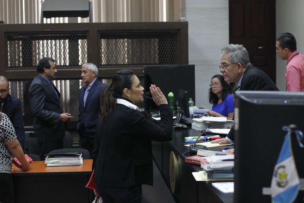 Roxana Baldetti ha tratado de que el juez Miguel Ángel Gálvez no sea quien lleve sus casos. Foto Prensa Libre