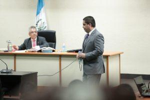En Abril de 2018 Juan Carlos Monzón, ex secretario de Roxana Baldetti, declaró por el caso Cooptación del Estado. Foto Prensa Libre