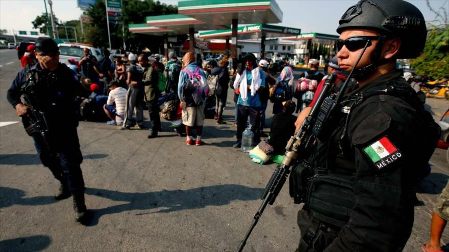 Amnistía Internacional acusa al gobierno de México de actuar represivamente contra los migrantes. (Foto: Hemeroteca PL)