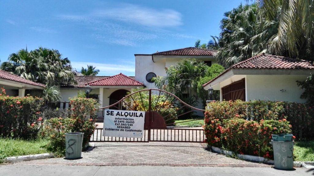 Varias propiedades de la ex vicemandataria han sido trasladadas al Estado durante los procesos judiciales que enfrenta. Foto Prensa Libre