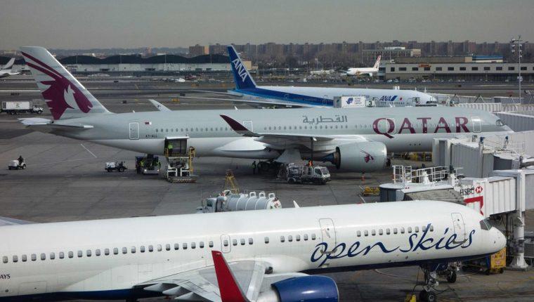 Qatar Airways se ubicó como la mejor aerolínea del mundo, según el ranking de AirHelp. (Foto Prensa Libre: Hemeroteca)
