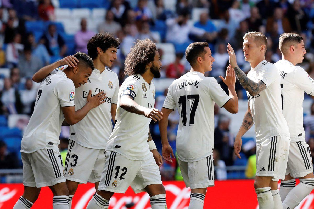 El Real Madrid reacciona con un triunfo frente al Villarreal