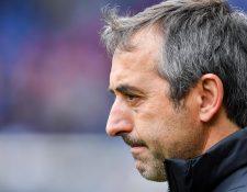 El entrenador Marco Giampaolo estará a cargo del AC Milán. (Foto Prensa Libre: EFE)