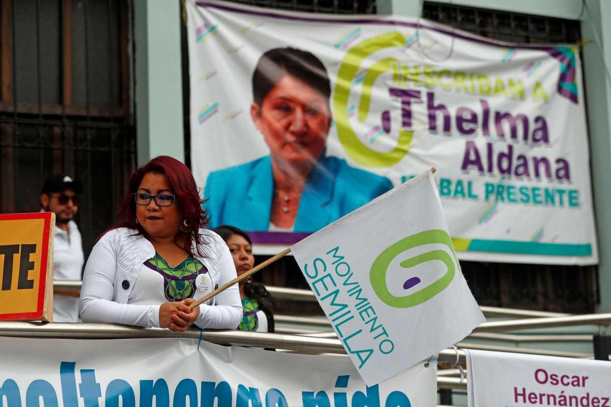Secretario general de Semilla: No nos detendremos, la campaña sigue para el resto de candidaturas