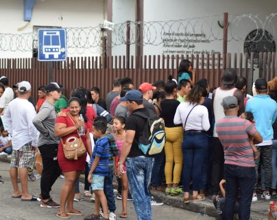 Según la Encuesta Libre, los guatemaltecos se oponen a que el país reciba a migrantes de Honduras y El Salvador. (Foto Prensa Libre: Hemeroteca PL)