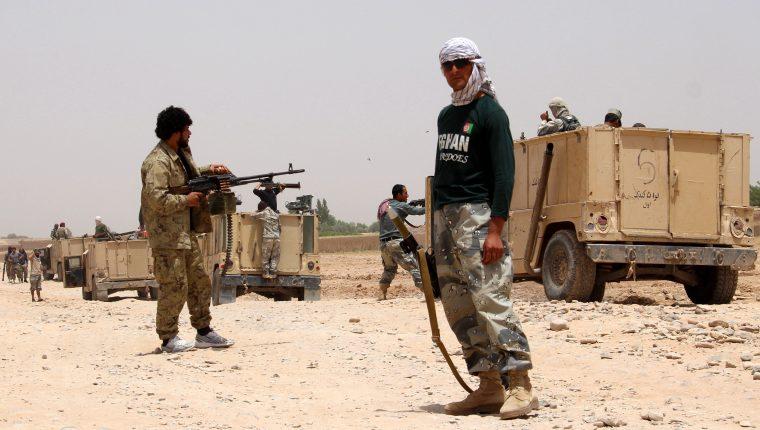 En Afganistán los talibanes dominan alrededor del 11 del territorio del país. (Foto Prensa Libre: EFE)