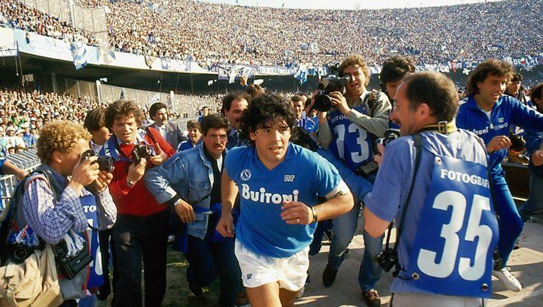 """Imagen facilitada por el Festival de Cannes. La presencia de Maradona tenía que ser uno de los momentos especiales del Festival de Cannes pero una operación le ha impedido asistir al estreno del documental """"Diego Maradona"""". (Foto Prensa Libre: EFE)"""