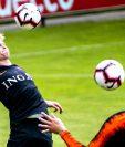 Frenkie de Jong fue una de las figuras con el Ajax en la última Champions League. (Foto Prensa Libre: EFE)