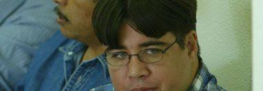 Keneth Reginaldo Vanegas Blanco, durante el juicio por la matanza de Xororaguá, en 2015, del cual fue absuelto.  (Foto Prensa Libre: Hemeroteca PL)