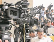 En el Día Mundial de la Libertad de Prensa la APG pide al Gobierno que frene su actitud agresiva en contra de los periodistas y medios de comunicación independientes. (Foto Prensa Libre: Hemeroteca PL)