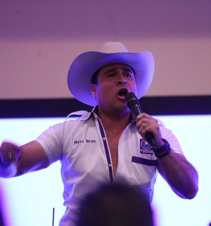 Neto Bran, alcalde de Mixco que va por la reelección a través del partido Todos. (Foto Prensa Libre: Hemeroteca PL)