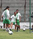 Pablo Mingorance asegura que la serie de Antigua contra Guastatoya será de mucha concentración. (Foto Prensa Libre: Francisco Sánchez).