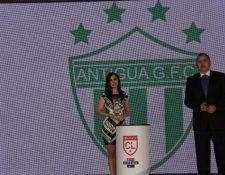 Antigua GFC, es el vigente campeón de la Liga Nacional y se enfrentará contra el monarca de Canadá. (Foto Prensa Libre: Francisco Sánchez)