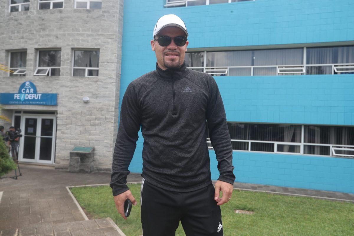 Edward Santeliz, uno de los nuevos rostros de la Selección de Amarini Villatoro