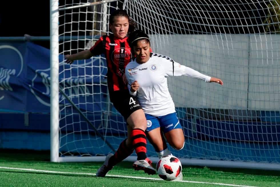 La guatemalteca Madelyn Ventura se queda a un paso del ascenso a Primera División del Futbol Femenino de España