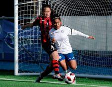 Madelyn Ventura nacional tuvo su primera experiencia en el futbol extranjero donde logró destacar y salir de titular en varios juegos. (Foto Prensa Libre: Cortesía)